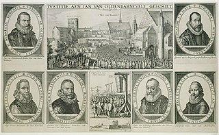 Trial of Oldenbarnevelt, Grotius and Hogerbeets