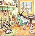 Clever Gretel chickens 1920.jpg