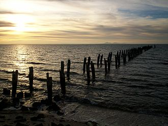 Clifton Springs, Victoria - Image: Clifton Springs Pier