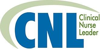 Clinical nurse leader - Image: Clinical Nurse Leader logo