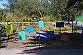 Clock Stone and Messages in the San Juan de Aragón zoo.jpg