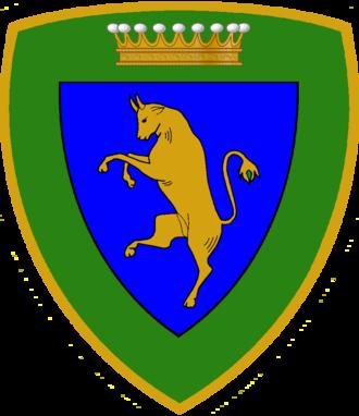 Alpine Brigade Taurinense - Coat of Arms Taurinense Alpine Brigade