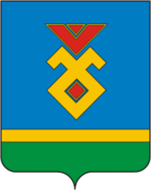Iglinsky District - Image: Coat of Arms of Iglino rayon (Bashkortostan)