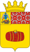 Coat of arms of Veļskas rajons