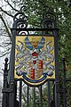 Coat of arms, Oldlands Hall gateway - geograph.org.uk - 1751559.jpg