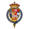 Coat of arms of Sir George Talbot, 6th Earl of Shrewsbury, KG.png