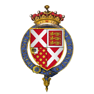 Ralph Neville, 4th Earl of Westmorland - Arms of Sir Ralph Neville, 4th Earl of Westmorland, KG