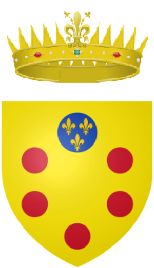 Ferdinando II de' Medici, Grand Duke of Tuscany - Image: Coat of arms of the Grand Duke of Tuscany