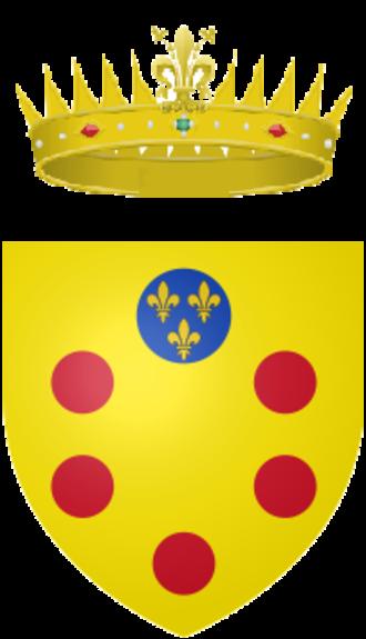 Cosimo II de' Medici, Grand Duke of Tuscany - Image: Coat of arms of the Grand Duke of Tuscany