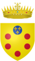 Coat of arms of the Grand Duke of Tuscany.png