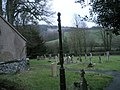 Cocking churchyard in the gloaming - geograph.org.uk - 1125631.jpg