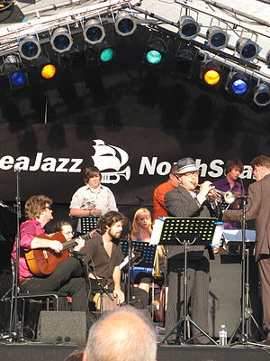 Codarts - Codarts Big Band, conducted by Ilja Reijngoud, at the North Sea Jazz Festival, July 2008