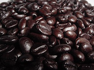 Food grading - Dark-roasted coffee beans