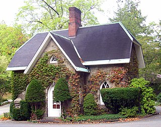 Cold Spring Cemetery Gatehouse