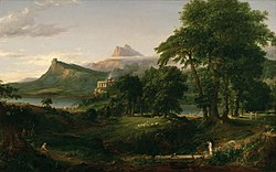 Thomas Cole: The Course of Empire: The Arcadian or Pastoral State