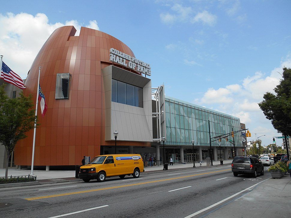 College Football Hall of Fame building