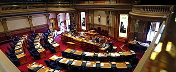 Senate Chamber, Colorado State Capitol Buildin...