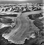 Columbia Glacier, Calving Terminus with Oblique View of Valley Glacier, August 26, 1963 (GLACIERS 1005).jpg