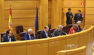 2017–18 Spanish constitutional crisis - Special Senate Commission on the Invocation of Article 155 of the Spanish Constitution (presidency).