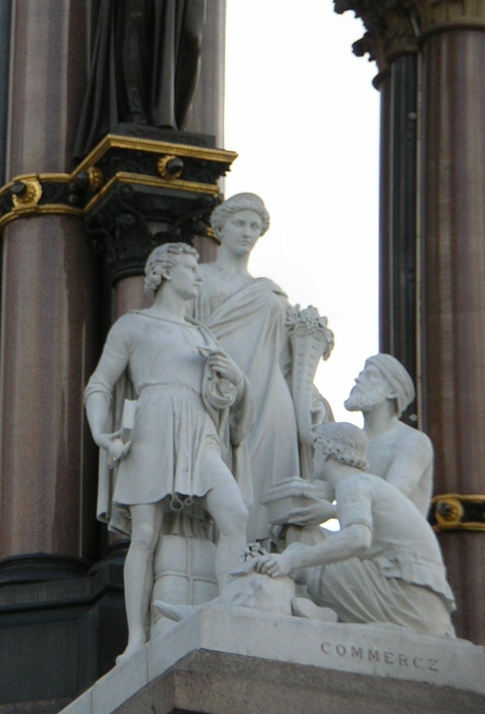 Commerce group (Albert Memorial)