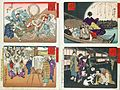 Compiled Album from Four Series- A Mirror of Famous Generals of Japan; Comic Pictures of Famous Places in Civilizing Tokyo; Twenty-four Accomplishments in Imperial Japan; Twenty-four Hours LACMA M.84.31.30 (1 of 35).jpg