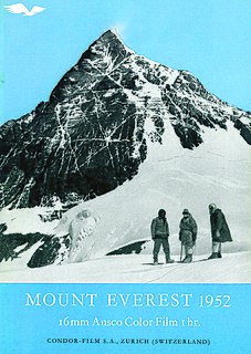 1952 Swiss Mount Everest expedition