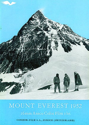1952 Swiss Mount Everest expedition - Image: Condor Films 1952