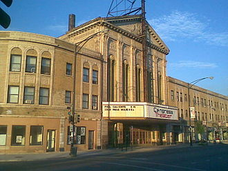 Congress Theater - The Congress Theater in 2008
