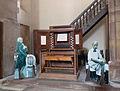Console originale de l'orgue Silbermann-Eglise Saint-Thomas de Strasbourg.jpg