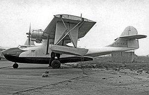 Canadian Vickers - This Canadian Vickers OA-10A operated in several countries postwar as a utility transport, including Hong Kong, Sweden and Kenya