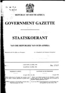 Constitution of the Republic of South Africa Third Amendment Act 1996 from Government Gazette.djvu