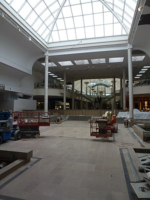 Sherway Gardens - Sherway Gardens under construction in 2014