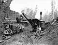 Construction crew with Bucyrus steam shovel, Wynooche Timber Company, near Montesano, ca 1921 (KINSEY 1596).jpeg