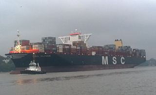 <i>MSC Oliver</i> container ship