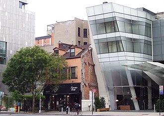 Cooper Square - Image: Cooper Square Old & New