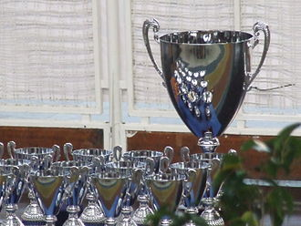 Copa del Rey de Hockey Patines - Trophy given to the winners.