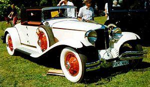 Cord (automobile) - 1931 L-29 Convertible Coupé