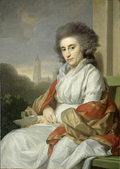 Portrait of Cornelia Rijdenius, Wife of Johannes Lublink II