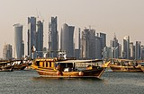 Doha, la capital de Qatar