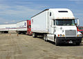 Corps-FEMA Commodities Trucks at staging area in Seguin, TX (2868093472).jpg