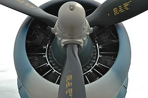 Pratt & Whitney Wasp series - R-2800 Double Wasp as fitted to an F4U Corsair
