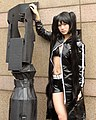 Cosplayer of Black Rock Shooter at FF19 20120204a.jpg