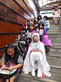 Cosplayers of Special Legend Characters Set on Stairs 20120429.jpg