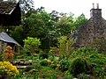 Cottage garden on Monboddo Road - geograph.org.uk - 811660.jpg