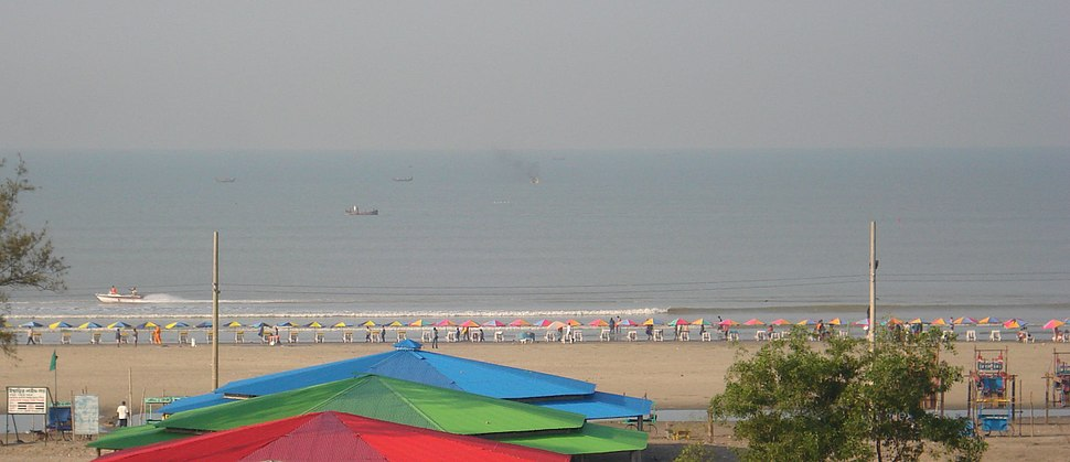 Cox's Bazar Beach Panaroma