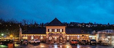 Coyote Cafe in Tübingen zur blauen Stunde 2019 001.jpg