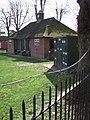 Cricket pavilion and scoreboard, Exeter School - geograph.org.uk - 364847.jpg