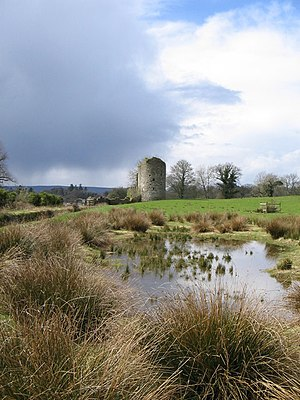 Crom Estate - Part of the old castle