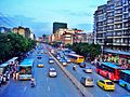 Crowded boulevard in Fuzhou - panoramio.jpg