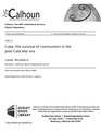 Cuba- the survival of communism in the post-Cold War era (IA cubasurvivalofco1094531960).pdf